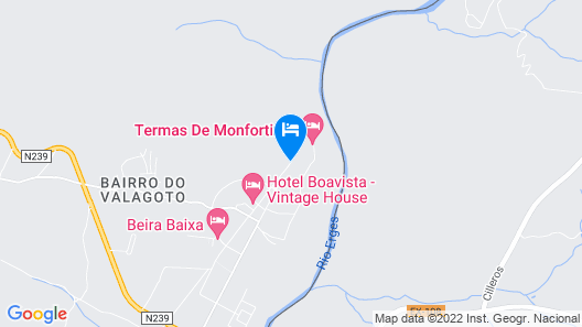 Hotel Fonte Santa Map