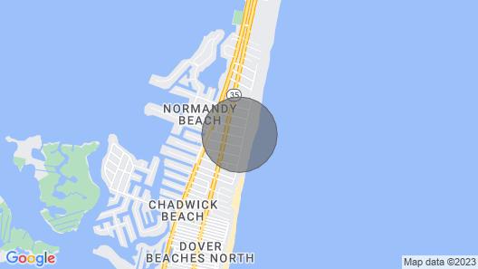 Summer Beach Rental Map