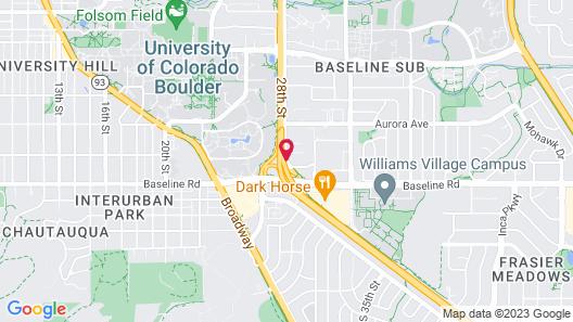 Best Western Plus Boulder Inn Map