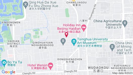 Holiday Inn Beijing Haidian, an IHG Hotel Map