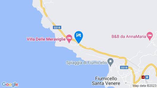 Hotel Villa delle Meraviglie Map