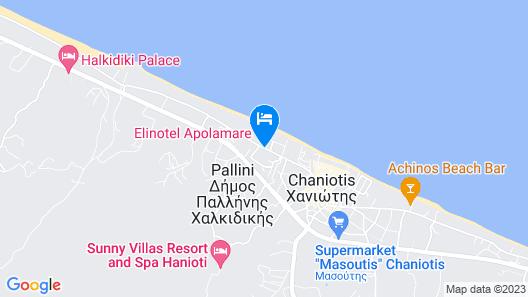 Elinotel Apolamare Hotel Map