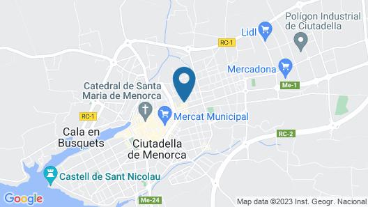 Hostel Menorca - Albergue Juvenil Map