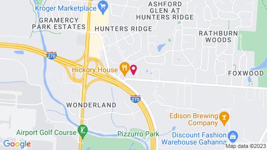 Sonesta Simply Suites Columbus Airport Map