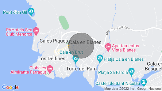 Villa Matias, Villa Maria Ideal families Map