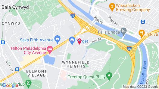 Courtyard by Marriott Philadelphia City Avenue Map