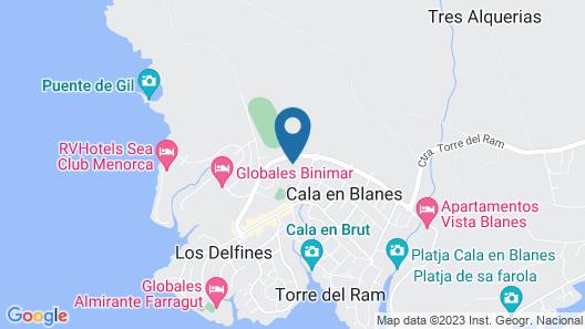 Vacances Menorca Resort Map