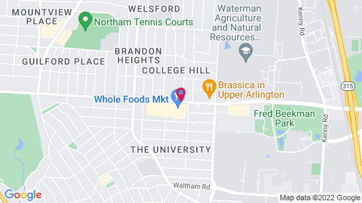 Homewood Suites by Hilton Columbus/OSU, OH Map