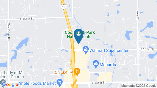 Holiday Inn Express & Suites - North Carmel / Westfield, an IHG Hotel Map