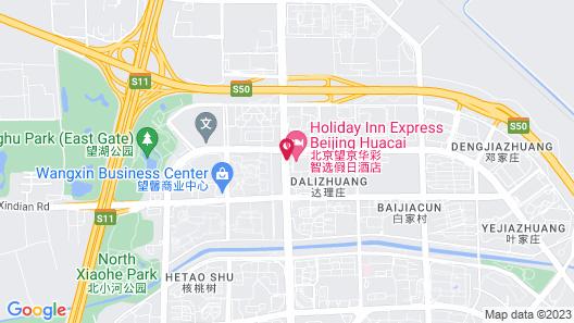 Holiday Inn Express Beijing Huacai, an IHG Hotel Map