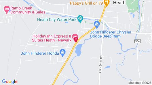 Holiday Inn Express & Suites Columbus East - Heath, an IHG Hotel Map