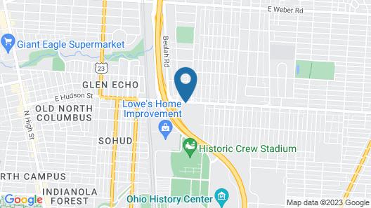 Holiday Inn Express Columbus - Ohio Expo Center, an IHG Hotel Map