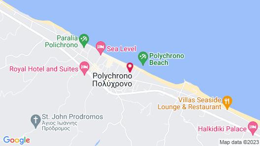 Hotel Odysseas Map