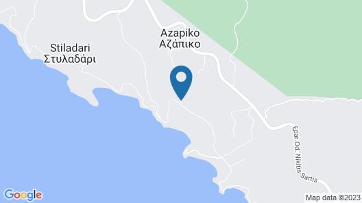 Azapiko Blue Sea Hotel Map