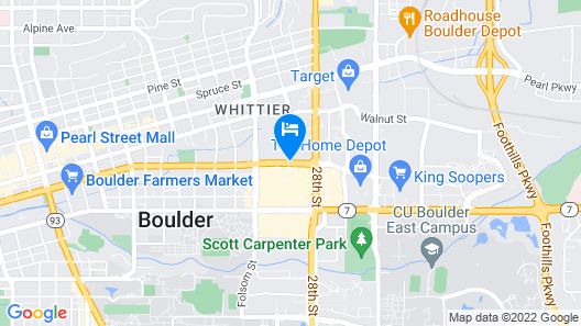 Embassy Suites by Hilton Boulder Map