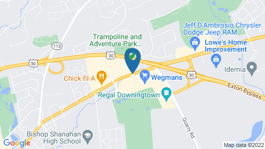 Home2 Suites by Hilton Downingtown Exton Route 30 Map