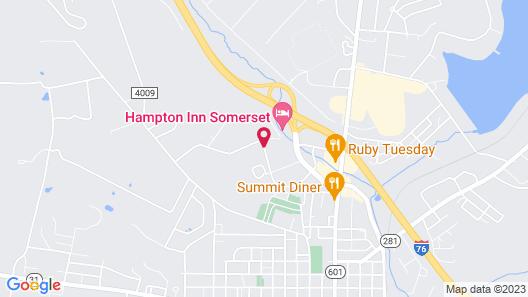 Fairfield Inn & Suites by Marriott Somerset Map