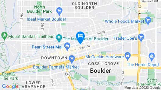Bradley Boulder Inn Map