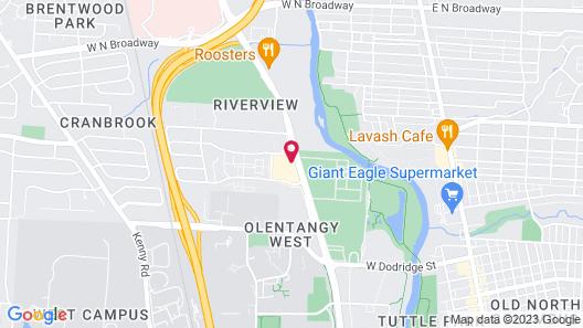 Fairfield Inn & Suites by Marriott Columbus OSU Map