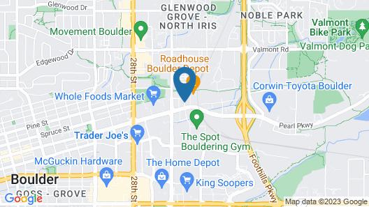 Hyatt Place Boulder/Pearl Street Map