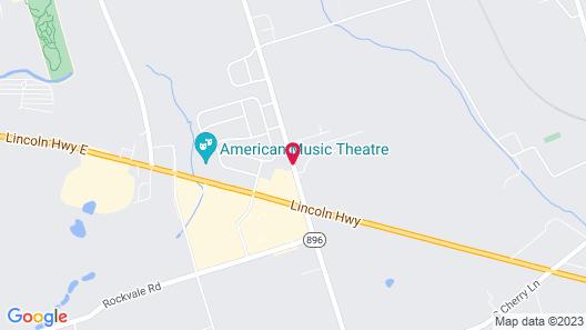 Olde Amish Inn Map