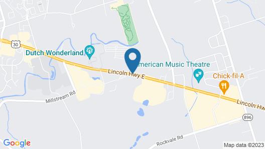 Classic Inn Map