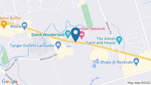 Fairfield Inn & Suites Lancaster East at The Outlets Map