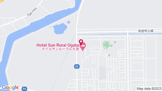 Hotel Sun Rural Ogata Map