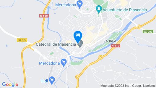Rusticae Palacio Carvajal Girón Map
