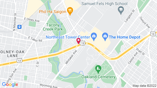 Days Inn by Wyndham Philadelphia - Roosevelt Boulevard Map