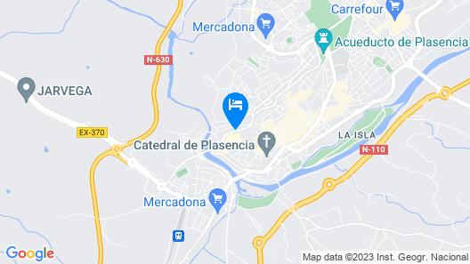 Parador de Plasencia Map