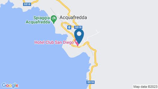 Villa Cheta Hotel & Restaurant Map