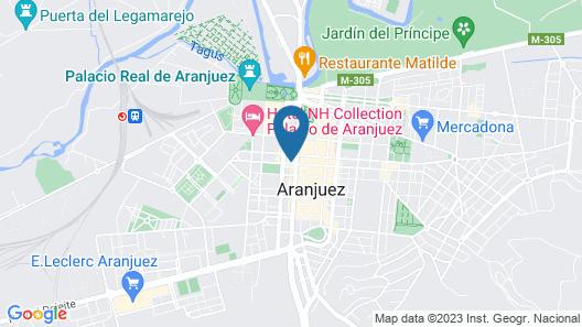 Posada de la Costurera de Aranjuez Map