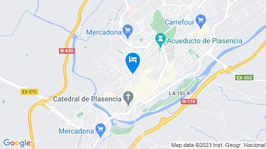 Hotel Dora Map