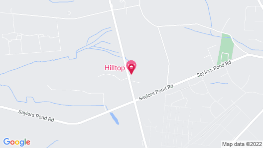 Hill Top Motel Map