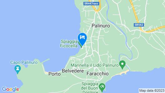 Hotel Lido Ficocella Map