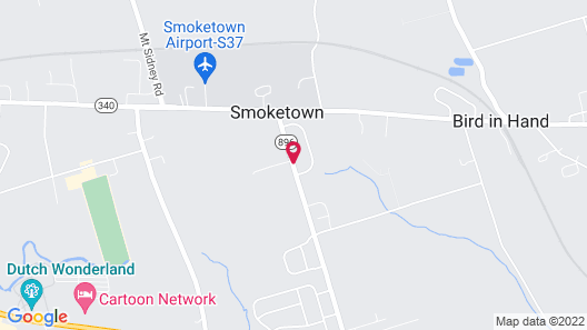 Mill Stream Country Inn Map