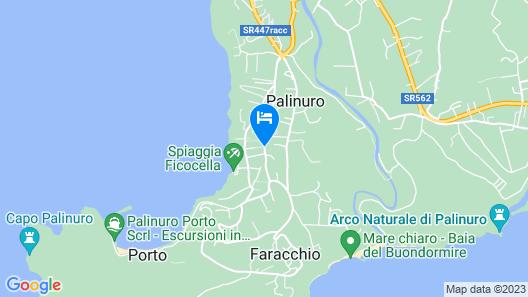 Best Western Hotel La Conchiglia Map