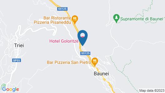 Hotel Goloritzé Map