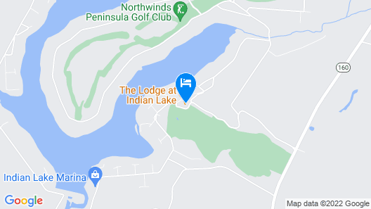 The Lodge at Indian Lake Map