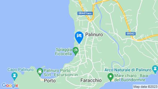 Grand Hotel San Pietro Map