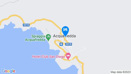 Hotel Club San Diego Map