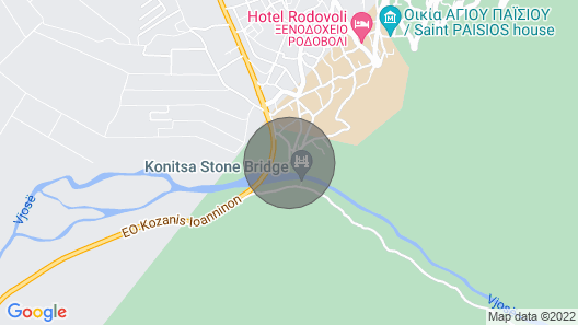 Konitsa River Whisper - Gefyri Modern Double Map