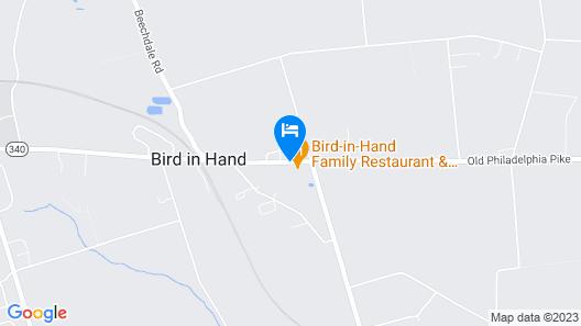 Bird-in-Hand Family Inn Map