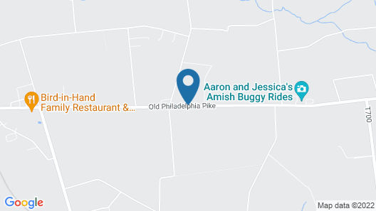 Amish Country Motel Map