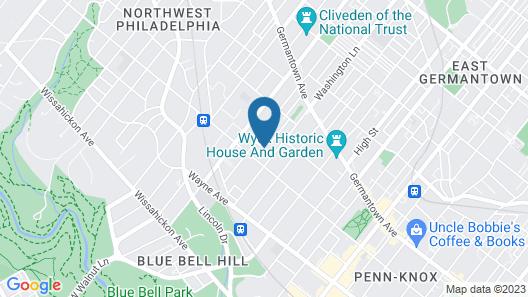 Burbridge St. B&B Map
