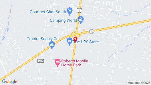 Ramada by Wyndham Toms River Map