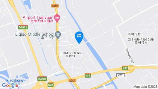 GreenTree Inn Beijing Capital Airport T3 Xingang Express Map