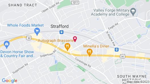 Wayne Bed & Breakfast Inn Map