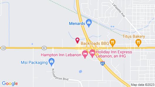 Crossroads Inn Map